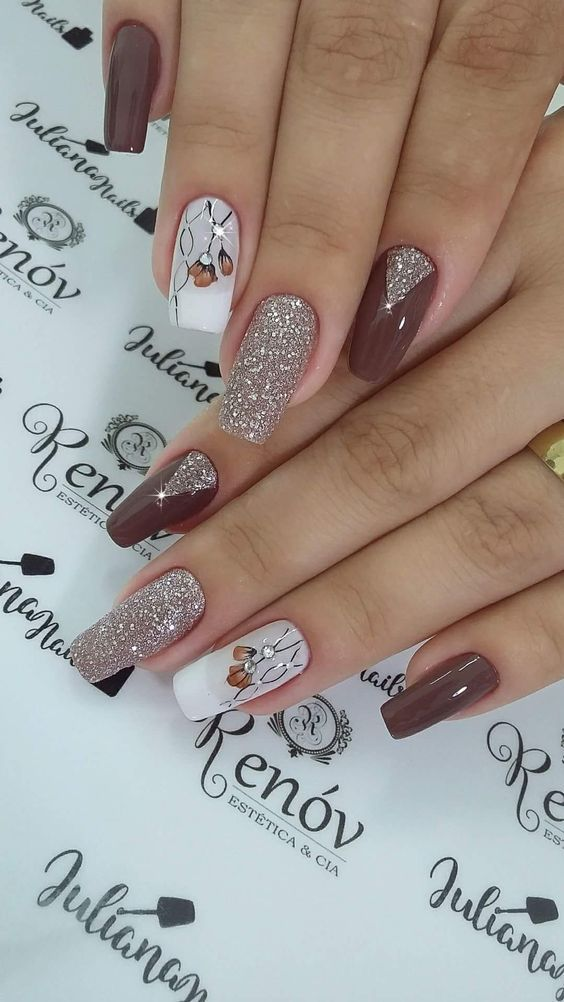 35 Trending Early Spring Nails Art Designs And Colors 2019 With Images Trendy Nails Cute Acrylic Nails Christmas Nails