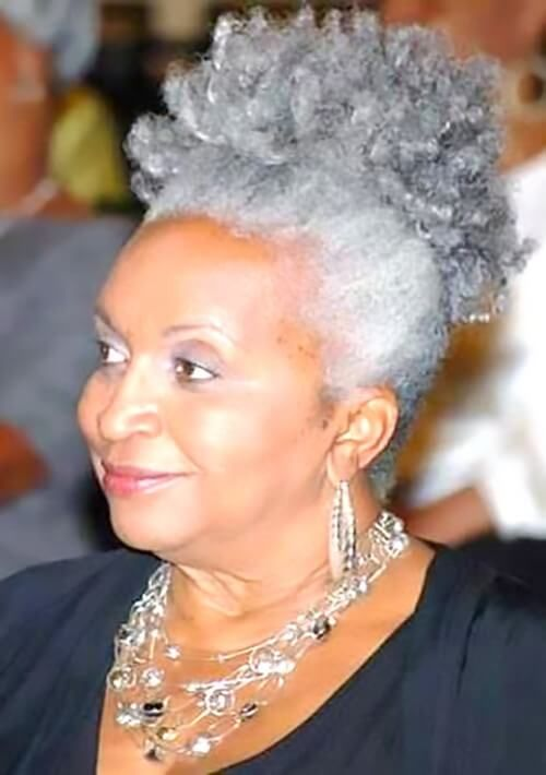 Hairstyles For Black Women Over 60 Hair Inspiration Natural