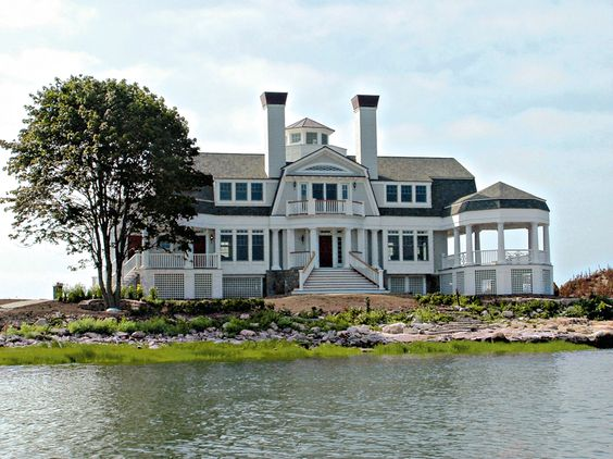 site   Modular Fortress on Island Survives Hurricane Irene's Wrath - Wilton Architect Receives Praise from Owner and Insurance Policy Provider