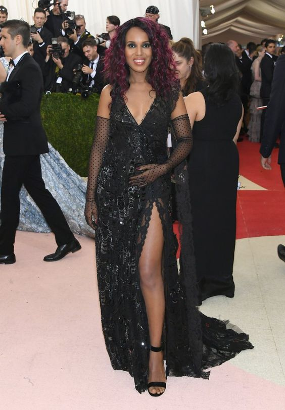 Pin for Later: Seht alle Stars auf dem roten Teppich der Met Gala Kerry Washington in Marc Jacobs