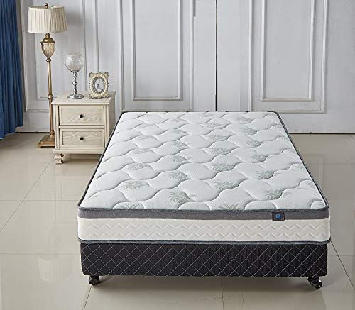 Organic Materials 9 Inch Mattress With Heat Distributing Breathing