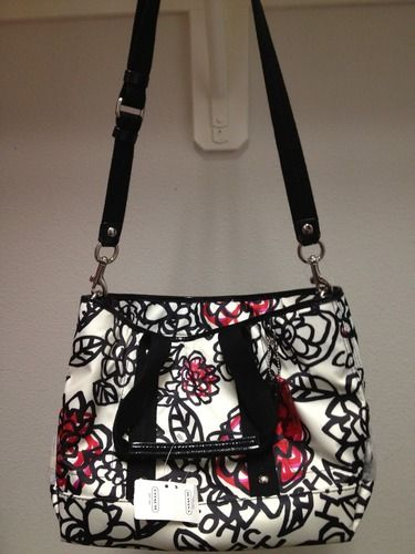 Be bold! Authentic Coach Daisy Floral Graffiti Tote, starting at $60.