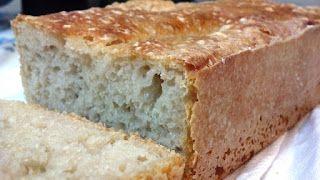 Pão tipo italiano com baixo teor de glúten