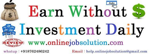 How To Earn Money Daily Online Without Investment