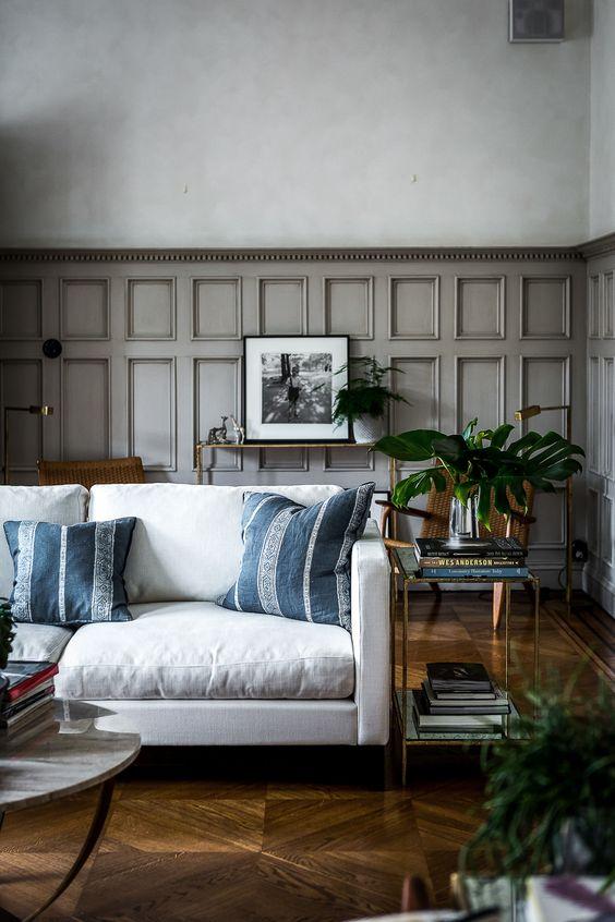 Dizzy Eclectic Living Room