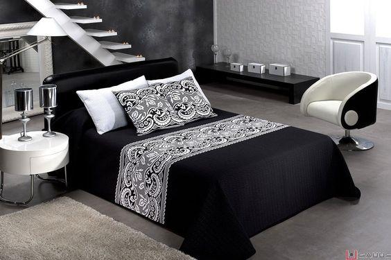 decorar una habitacion en blanco y negro - Buscar con Google: