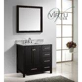"Found it at Wayfair - Caroline Avenue 37"" Single Bathroom Vanity Set with Mirror"