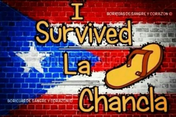 """Puerto Rico ♥♡♥♡........and when someone gave birth to a baby girl, they would say: """"She had a chancleta"""" ;)"""