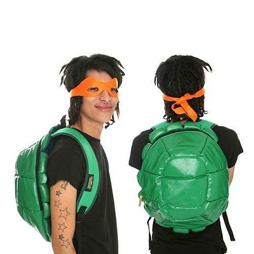 TMNT Shell Backpack and masks