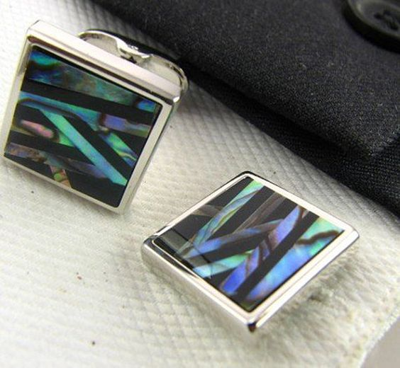 Shell Shirt cuff Cufflinks cuff links drop shipping for mens gift A92#