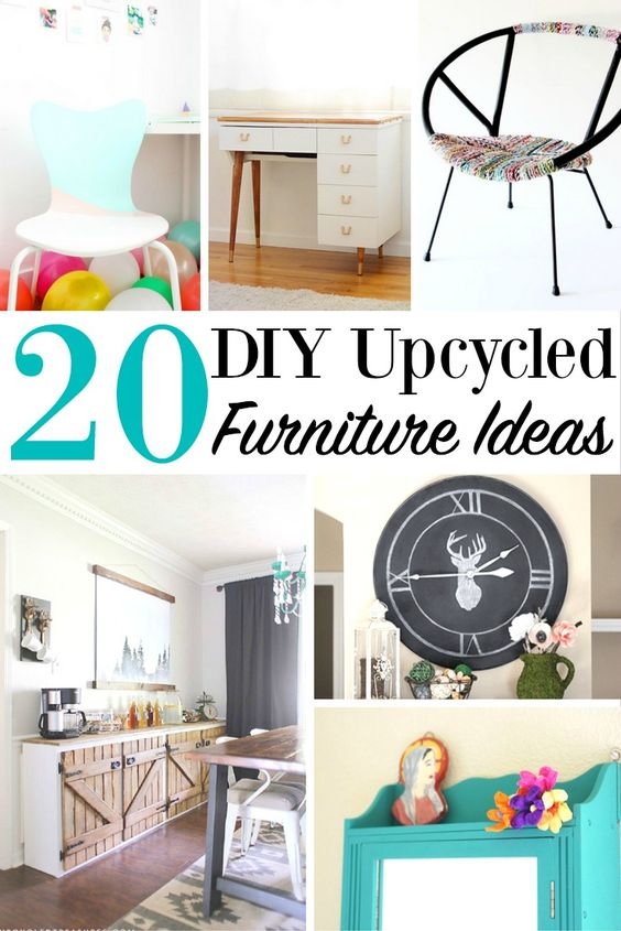 20 DIY Upcycled Furniture Ideas