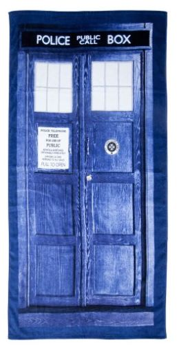 Serviette de bain doctor who