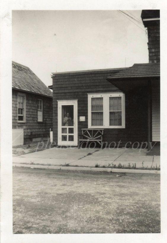 Vintage 1947 Snapshot Photo Beach Haven Nj Lbi New Jersey Apartment Cottage Beach Haven Long Beach Island Nj Beaches