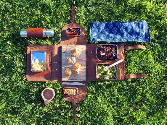 期待の新人デザイナー・イワンKILROEのピクニックキット♡   海外家具・インテリア・雑貨の最新人気情報【kagu-teria】