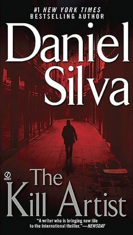 The Kill Artist (Gabriel Allon Series #1)  by Daniel Silva. Click on the cover to see if the book's available at Otis Library.