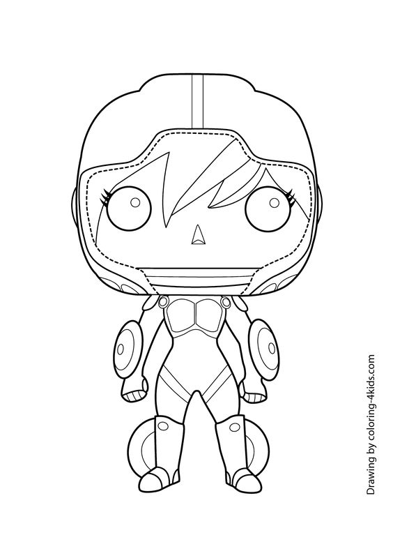 Big Hero Gogo Tomago Coloring Page For Kids Printable Free 6