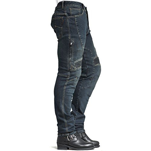 Negro Racer Cordura Kevlar Stretch Jeans M