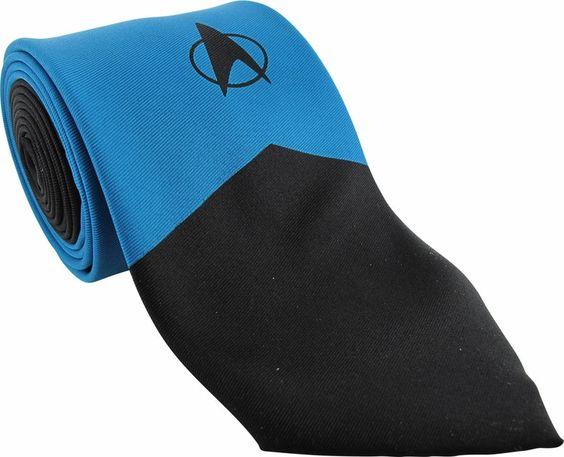 Star Trek TNG Science Mighty Fine Tie