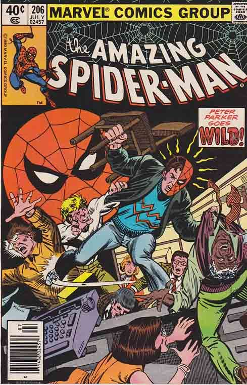 AMAZING SPIDER-MAN #206. John Byrne Pencils. A Method in His Madness!  #comics #comicbooks #marvelcomics  #spiderman #amazingspiderman  #johnbyrne