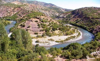 The Munzur Valley in Dersim.
