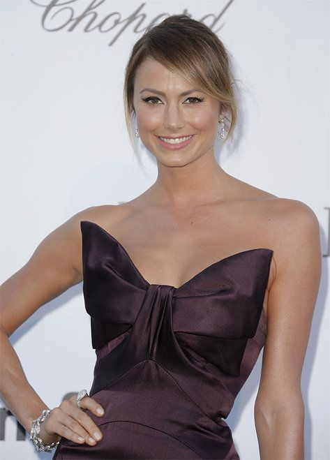 Stacey Keibler-France Cannes amFAR Arrivals