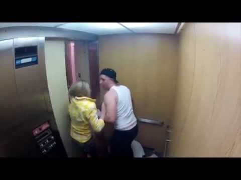 Ghost Elevator Prank Gone Wrong (not funny though)