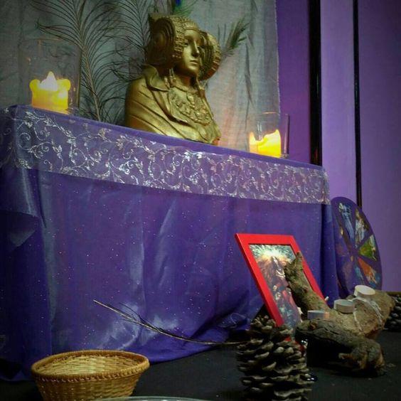 Altar de Yule 2018