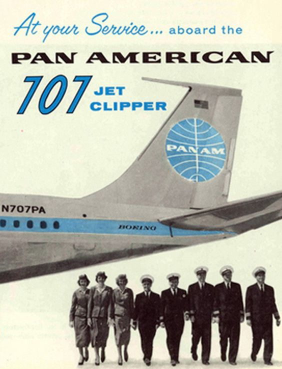 """Pan Am 707 Jet Clipper  """"With Love, The Argentina Family~Memories of Tango and Kugel; Mate with Knishes""""- Available on Amazon"""