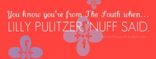 Lilly Pulitzer 'nuff said.