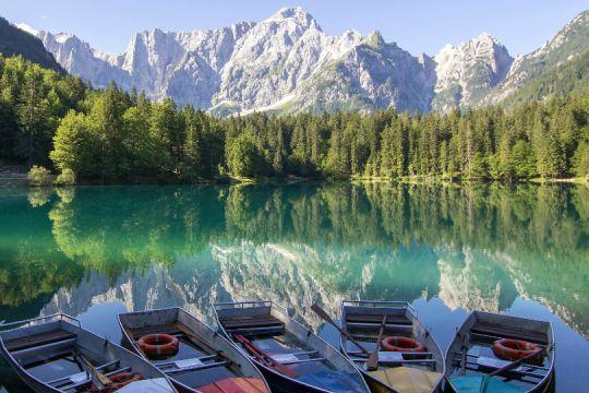 Lago di Fusine, Italy by Norbert M.