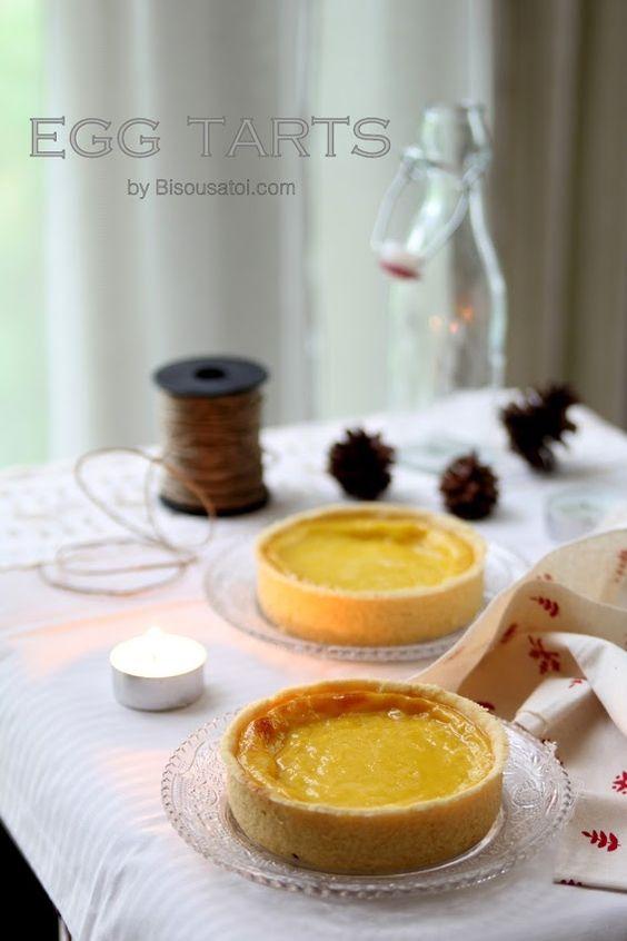 Bisous À Toi: Condensed milk egg tarts