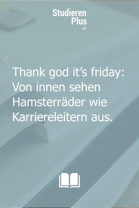 Tgif Thank God It S Friday Fernstudium Studieren Karriere