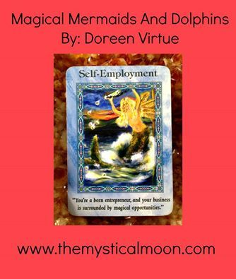 Card of the Day ~ Self-Employment  You have the drive, discipline, and desire to be your own boss. You also have magical ingredients for a successful business. Heaven wants you to know that you're fully supported spiritually. As long as you stay enthusiastic, new opportunities will come to you. Your positive energy attracts customers, clients, and contracts.