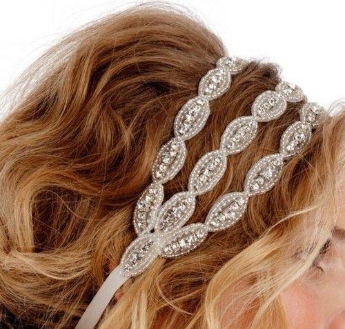 head band.: Hair Piece, Wedding Hair, Sparkly Headband, Hairstyle, Head Band, Hair Accessories