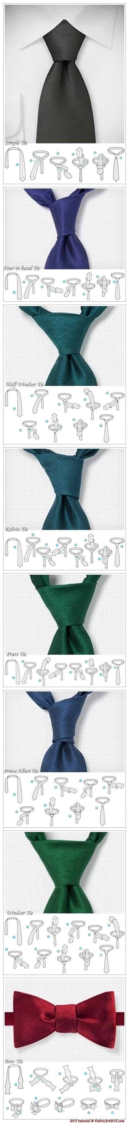 Como atar una corbata
