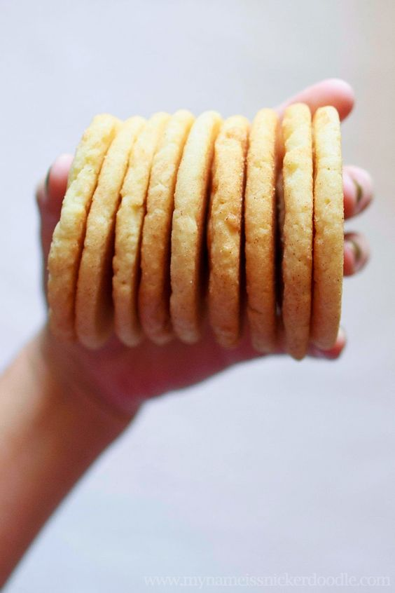 The Best Snickerdoodle Cookies EVER | My Name Is Snickerdoodle