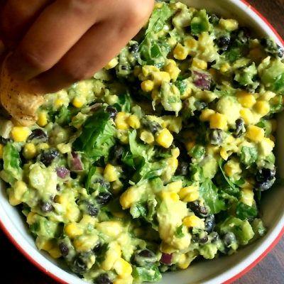 Vegan Appetizer Recipes: Ultimate Loaded Guacamole (Video)