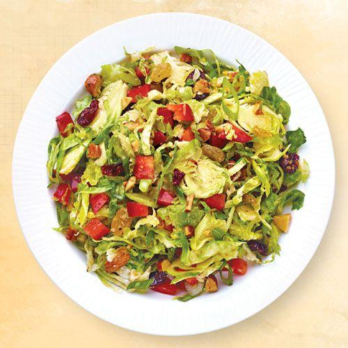 Brussels Sprouts Slaw |Wegmans Wegmans recipes Pinterest