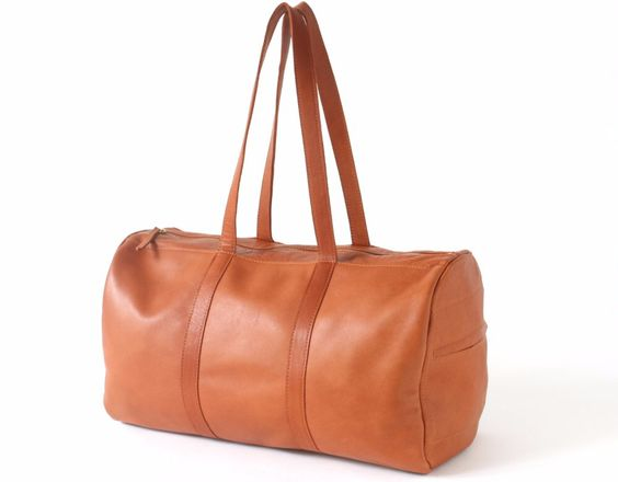 Check out this product on Alibaba.com APP 2016 Ladies Classic Durable High Quality Cognac Leather Travel Bag