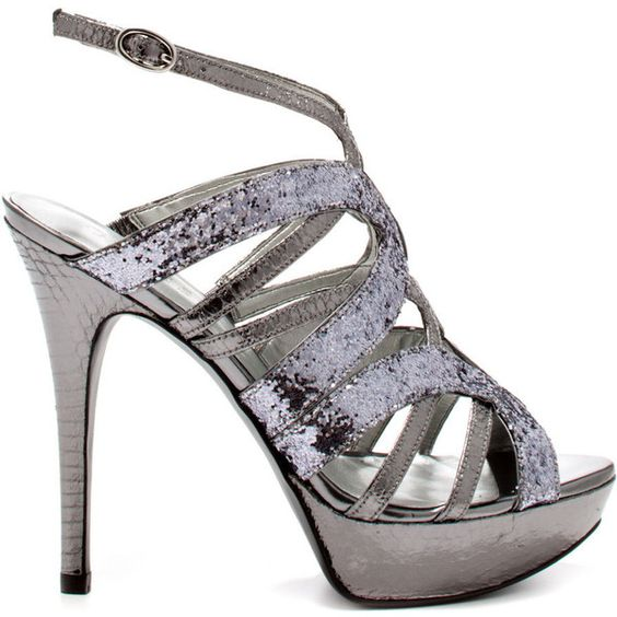 Guess Shoes Katura - Pewter Multi Texture