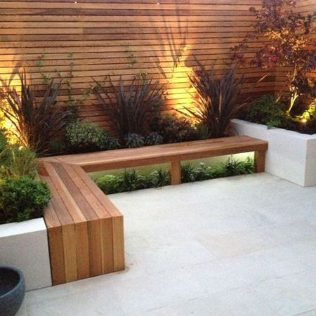you can make your own garden bench using par pine planks