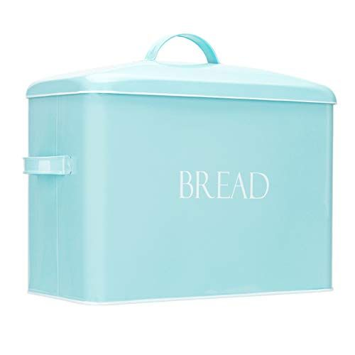 Outshine Vintage Metal Bread Bin Countertop Space Saving Extra Large High Capacity Bread Storage Box For Your Kit In 2020 Bread Storage Bread Bin Outshine