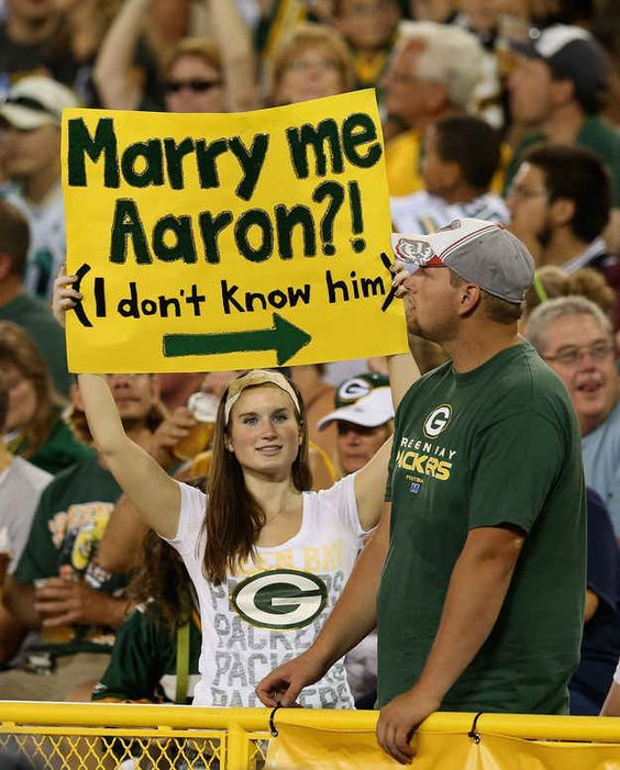 Marriage is dead. | 32 Hilarious Fan Signs That Deserve Their Own Standing Ovation
