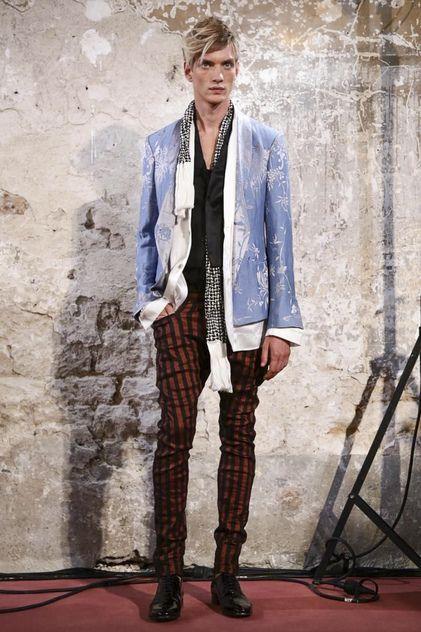 #Menswear Haider Ackermann Menswear Spring Summer 2015 Primavera Verano #Tendencias #Moda Hombre