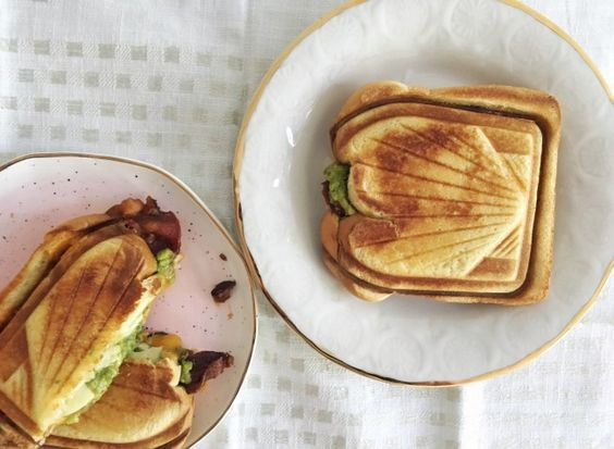Bacon and Guacamole Grilled Cheese