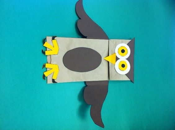 Paper Bag Puppets, Owl Paper And Paper Bags On Pinterest
