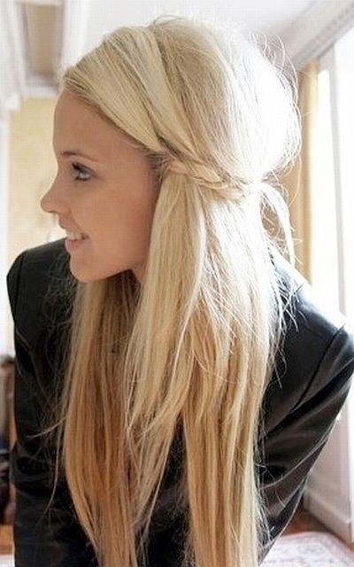 Rapunzel-approved princess side braid.