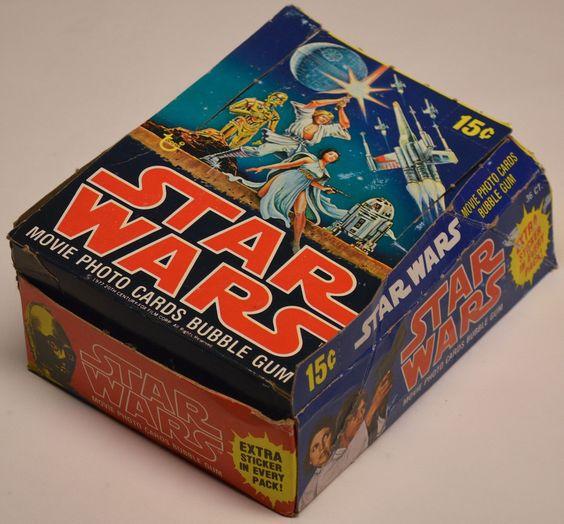 Star Wars Card Box