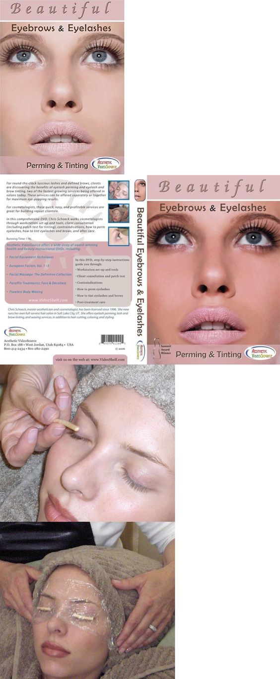 Eyelash Tools: Beautiful Eyebrows And Eyelashes: Perming And Tinting BUY IT NOW ONLY: $31.22