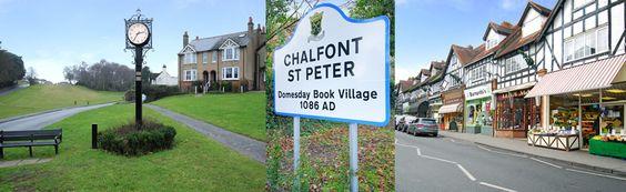 Chalfont St Peter - Where I lived in the 1980s.